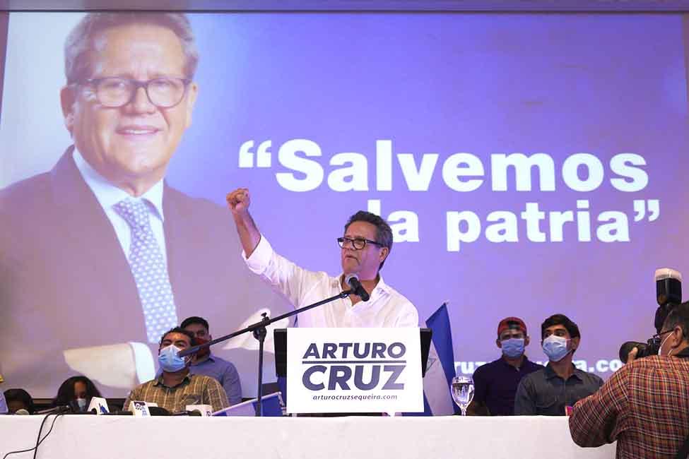 arturo cruz elecciones 2021 nicaragua